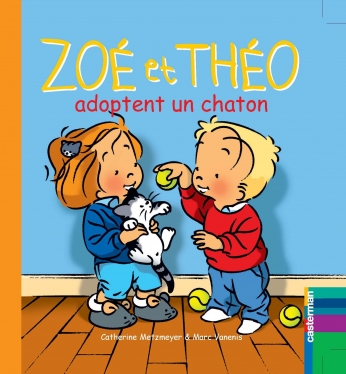 Zoé et Théo adoptent un chaton