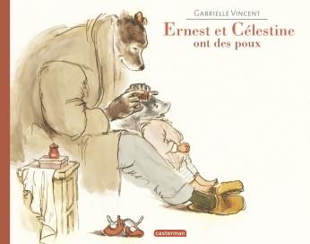 Ernest et Célestine ont des poux