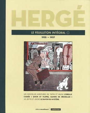 Hergé, le feuilleton intégral - Tome 6 - 1935 - 1937
