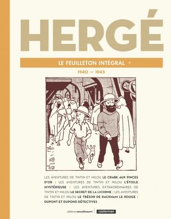 Hergé, le feuilleton intégral - Tome 9 - 1940 - 1943
