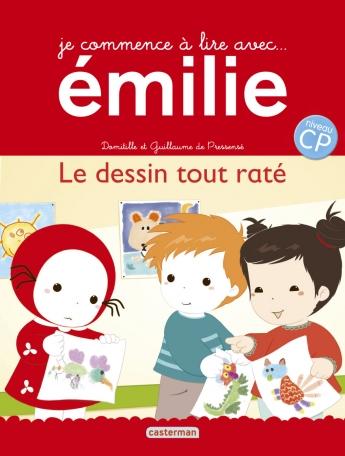 Je commence à lire avec Emilie - Tome 14 - Le dessin tout raté