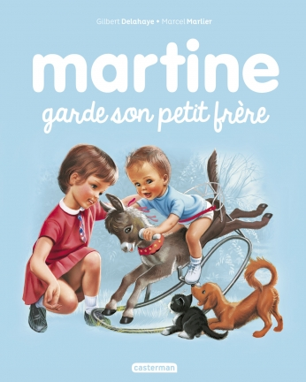 Martine garde son petit frère - Tome 18