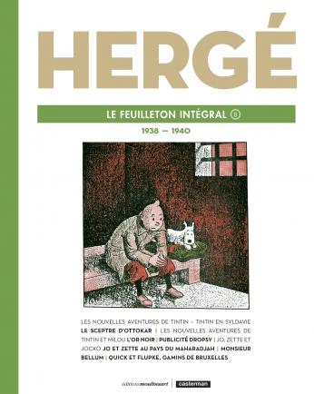 Hergé, le feuilleton intégral - Tome 8 - 1938 - 1940