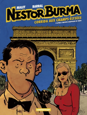 Nestor Burma - Tome 12 - Corrida aux Champs-Élysées