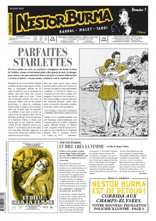 Corrida aux Champs-Élysées - Journal numéro 1