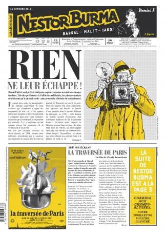 Corrida aux Champs-Élysées - Journal n°3