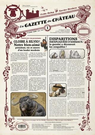 La Gazette du Château - Tome 1