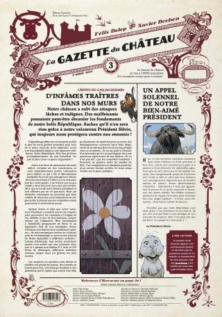 La Gazette du Château - Tome 3