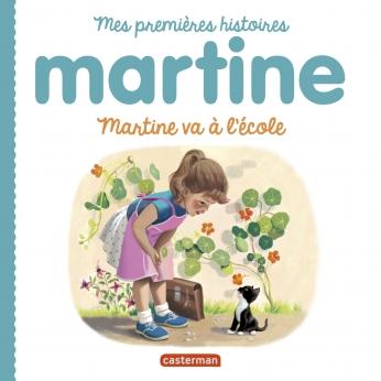 Martine va à l'école