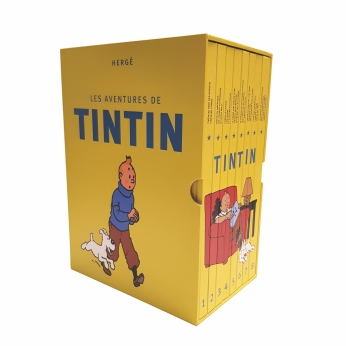 Coffret intégral Tintin (2018)