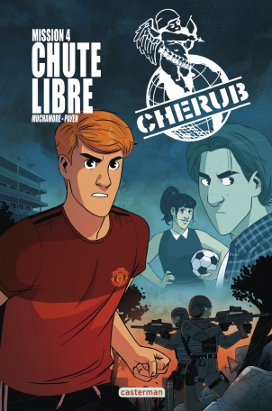 BD Cherub Mission 4 : Chute libre - Tome 4