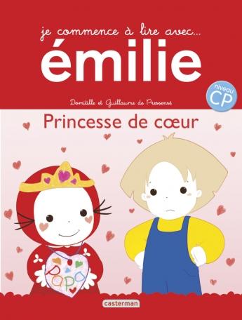 Je commence à lire avec Émilie - Tome 20 - Princesse de cœur