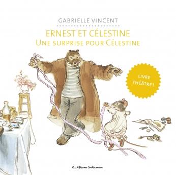 Le livre théâtre Ernest et Célestine