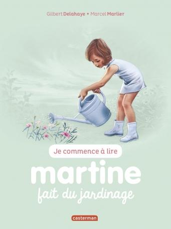 Martine fait du jardinage