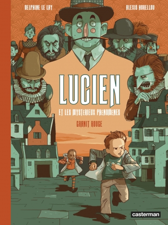 Lucien et les mystérieux phénomènes - Tome 2 - Granit rouge