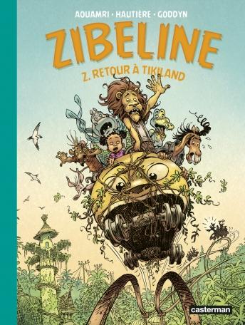 Zibeline - Tome 2 - Retour à Tikiland
