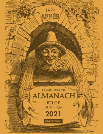 Le Grand double almanach belge, dit de Liège 2021