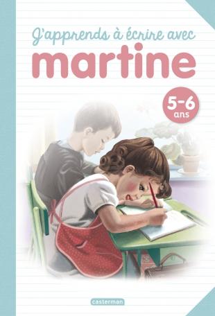 J'apprends à écrire avec Martine