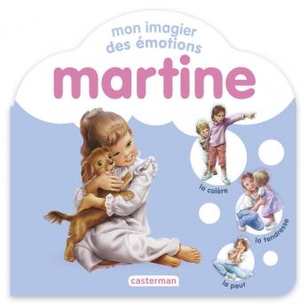 Mon imagier des émotions Martine