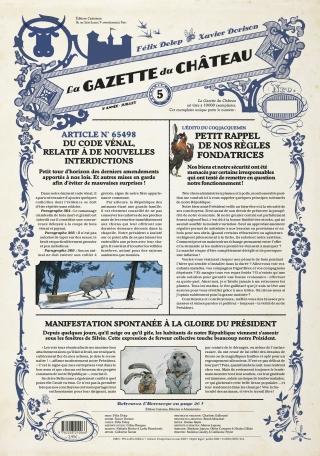 La Gazette du Château - Tome 5