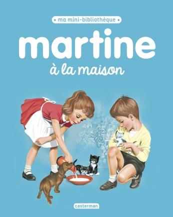 Martine à la maison
